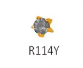 Серьги Studex 1214 Черный бриллиант -