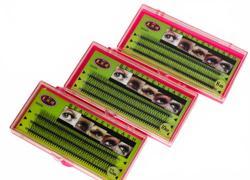 Ресницы Baisidai для пучкового наращивания с 3D эффектом