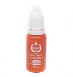 Пигмент для татуажа BioTouch Orange (Апельсиновый) (желтая основа) -