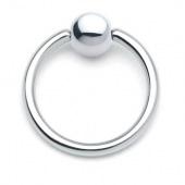 Пирсинг интимный кольцо 13мм