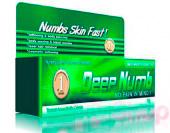 Обезболивающий гель анестетик Deep numb 10 мл. (зелёный)