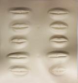 Силиконовый муляж 3D для обучения и отработки техник татуажа губы