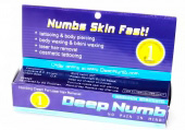 Обезболивающий гель анестетик Deep numb 10 мл. (синий) -