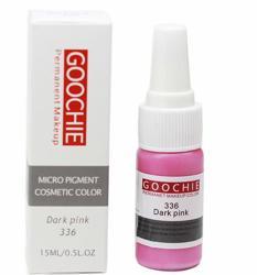 Пигмент для перманентного макияжа (татуажа) Goochie 336 Dark pink -