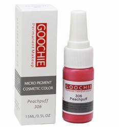 Пигмент для перманентного макияжа (татуажа) Goochie 306 Peachpuff -