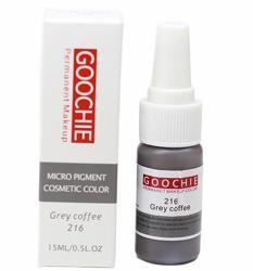Пигмент для перманентного макияжа (татуажа) Goochie 216 Grey coffee -