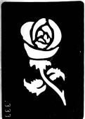 Трафарет для временных тату №333
