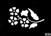 Трафарет для временных тату №188