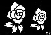 Трафарет для временных тату №22