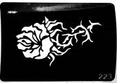 Трафарет для временных тату №223