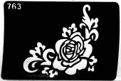 Трафарет для временных тату №763