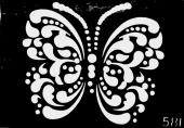 Трафарет для временных тату №581