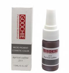 Пигмент для перманентного макияжа (татуажа) Goochie 211 Apricot coffee -