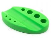 Подставка для манипулы и колпачков силиконовая зеленая