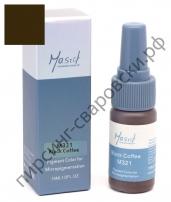 Пигмент для перманентного макияжа Mastor M321 Black Coffee -