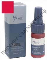 Пигмент для перманентного макияжа Mastor M307 Dark Pink