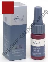Пигмент для перманентного макияжа Mastor M308 Wine Red