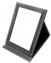 Зеркало складное (покрытие под змеиную кожу)