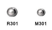 Серьги для прокола ушей Firstomato 301 Жемчуг серебро -