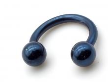 Циркуляр пирсинг синий